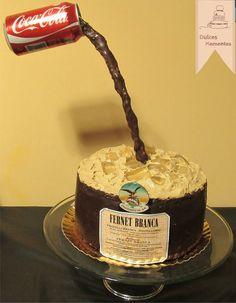 Anti Gravity Cake, Gravity Defying Cake, Cupcake Frosting Tips, Cupcake Cookies, Dessert Drinks, Dessert Recipes, Desserts, Coke Cake, Sweet 16