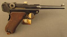 DWM Commercial Model 1906 Luger Pistol (BUG Proofed)