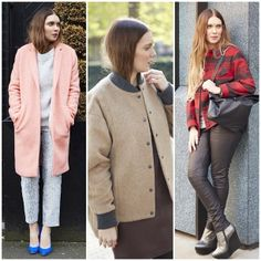From the fluffy pink to the army check, we would never think that outerwear could look this good. #coat #pink #bomber #boutique #check #tartan #winter #outerwear #personalshopper #topshopchristmas #topshopoxfordcircus