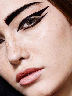 Magazine: Votre Beauté April May 2014 Photographer: Jean-Philippe Malaval Model: Mariia V Stylist: Aïna de Bure Hair: Stéphane Delahaye Make...