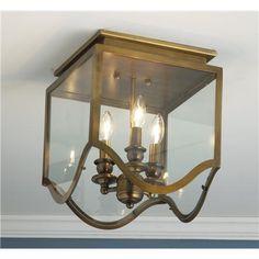 Gothic Arch Flush Ceiling Lantern