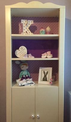 cute idea for ikea hensvik cabinet space saving nursery. Black Bedroom Furniture Sets. Home Design Ideas