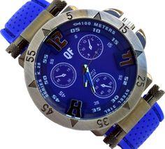 Ανδρικό ρολόι 1118 Chronograph, Steel, Accessories, Iron