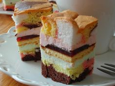 Food Cakes, Cupcake Cakes, Cupcakes, Polish Recipes, Homemade Cakes, Vanilla Cake, Blueberry, Cake Recipes, Sweet Tooth