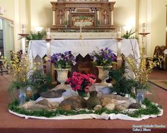 46 Best Easter Church Decor Images Altar Decorations Altars
