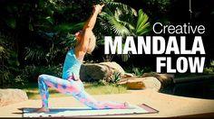 47 mins Creative Mandala Flow Yoga Class - Five Parks Yoga