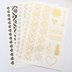 Temporary tattoos I-- LOVE these and dont care how tacky they are!! Theres two kinds and would love both sets of designs!