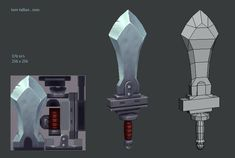 low poly game in blender 3d Model Character, Character Modeling, Character Design, 3d Fantasy, Fantasy Weapons, Prop Design, Game Design, Blender 3d, Character Art
