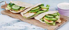 Außergewöhnlich Pitabroodjes met avocado in welcher kip Deze pitabroodjes met kip, avocado in ee. Healthy Brunch, Healthy Breakfast Recipes, Healthy Recipes, Easy Recipes, Gourmet Dinner Recipes, Good Food, Yummy Food, Sports Food, Tapas