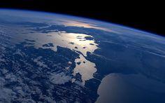 Descargar 3840x2160 Tierra vista desde el espacio Ultra HD Fondos de Pantalla fondo de pantalla