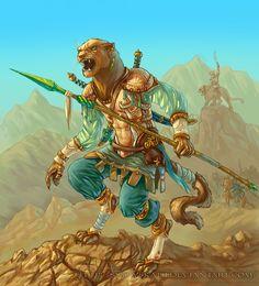 Khajiit - Desert Walker by SnowSkadi.deviantart.com