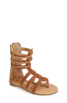kensie girl Gladiator Sandal (Walker, Toddler, Little Kid & Big Kid) available at #Nordstrom