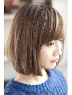Hair ☆ 109 ヘアスタイル】 — Cut + Color + Style by Freres Medium Hair Cuts, Short Hair Cuts, Medium Hair Styles, Short Hair Styles, Short Bob Hairstyles, Hairstyles With Bangs, Cool Hairstyles, Japanese Hairstyles, Asian Hairstyles