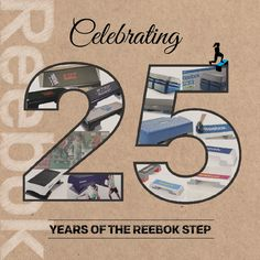 Join us in Celebrating 25 years of the Reebok Step with this 80's Reebok Step training video from Gin Miller! www.youtube.com/watch?v=lWEKWk_UagU