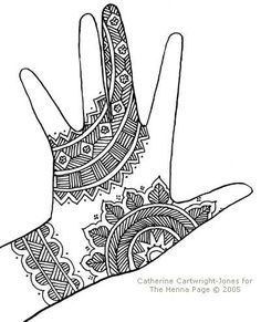 33 Best Henna Mehndi Art Lesson Images Zentangle Drawings