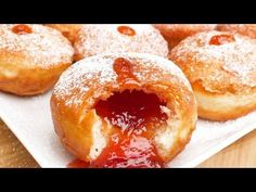 Sufganiyot (Jelly Doughnuts) Recipe - In A Bag