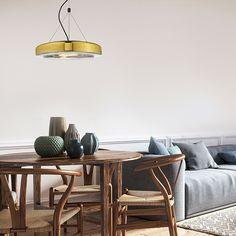 Suspension LED Space Lux en verre soufflé par Seyvaa Style Minimaliste, Suspension Design, Luminaire Design, Led, Throw Pillows, Home, White Marble, Blown Glass, Industrial Design