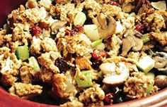 Melissa's Slow Cooker Stuffing - What's Cooking? USDA Mixing Bowl #MyPlate