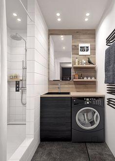 Jolie décoration salle de bain petite surface   Space furniture ...