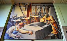 WPA murals