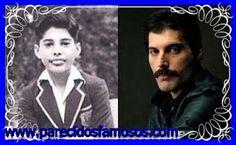 Parecidos con famosos: Freddie Mercury antes y después