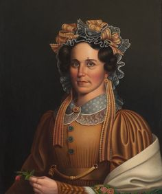 Lady in Brown by Frederick R. Spencer, c. 1855
