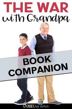 This book companion for The War with Grandpa by Robert Kimmel Smith has printable and digital activities to use with students. It includes comprehension questions and vocabulary practice for each chapter group. There's also a book quiz, sequence of events page, and graphic organizers. Click the link to learn more.