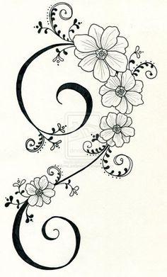 Best Snap Shots dibujos para bordar Embroidery Designs Tips Tattoo-Design 3 von … auf Hand Embroidery Patterns, Ribbon Embroidery, Embroidery Stitches, Machine Embroidery, Embroidery Tattoo, Native Beading Patterns, Tattoo Patterns, Floral Embroidery, Coloring Books