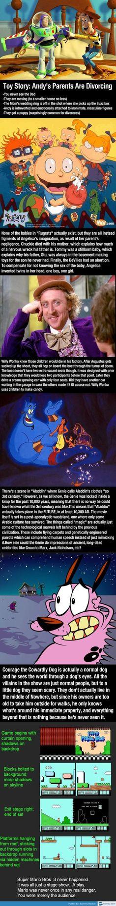 OMG the aladdin conspiracy theory!