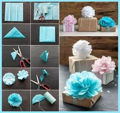 hediye paketi süsleme nasıl yapılır, pelur kağıt süs örnekleri, pelur kağıt paket süsü,