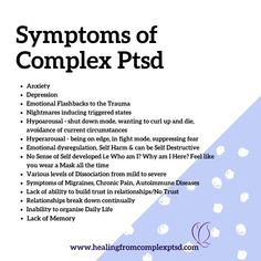 Mental And Emotional Health, Mental Health Matters, Emotional Healing, Mental Illness Awareness, Ptsd Awareness, Trauma Therapy, Behavioral Therapy, Ptsd Symptoms, Complex Ptsd