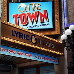 ON THE TOWN at The Lyric Theatre on Broadway