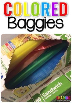Colored Baggies for