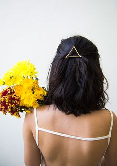 Triangle Barrette