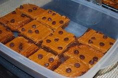 vegan pumpkin brownies - brownies végétalien au potiron