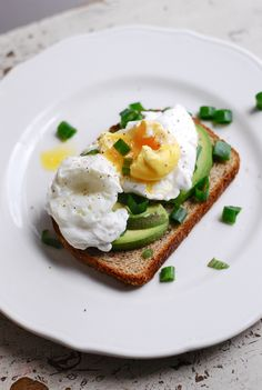 A Fresh Take on Breakfast: Poached Eggs Over Avocado Toast