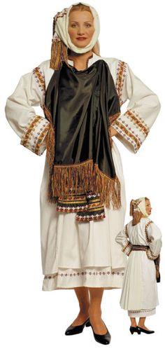Xios Pyrgi Female Traditional Dance Costume - Ελληνικές Παραδοσιακές Φορεσιές Στολές - www.nioras.com Dance Costumes, Greek Costumes, Religious Icons, Art Store, Traditional Dresses, Female, Chios, Inspiration, Outfits
