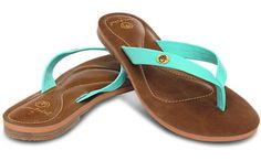 Brand NEW Discounted Womens Ocean Minded//Crocs Oumi Luxe Sandals in Brown//Bronze