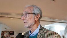 Il grande architetto Renzo Piano a palazzo Ducale per parlare di Genova edel suo rapporto con il mare.'Il destino di Genova è segnato sull'acqua...
