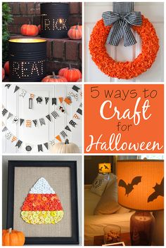 Halloween is just two weeks away! If you're looking for a few grown-up crafts to make this year, then look no further! From welcoming trick-or-treaters to a cute halloween banner for your mantle, t… Halloween School Treats, Halloween Banner, Diy Halloween Decorations, Holidays Halloween, Halloween Themes, Halloween Crafts, Spooky Decor, Halloween Goodies, Halloween Snacks