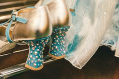 A little sparkle! Heels we wear in the Empire State Building sequence.