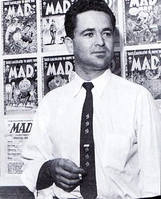 Golden Age artist, writer, editor best known for his work for EC Comics and Mad Magazine. Retired in Feldstein now primarily paints western and wildlife themed art. Inducted into the Will Eisner Comic Book Hall of Fame in Horror Fiction, Crime Fiction, Science Fiction, Comic Book Companies, Will Eisner, Ec Comics, Comic Art Community, Mad Magazine, Book Cover Art