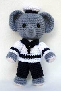 the cutest elephanti     *free pattern