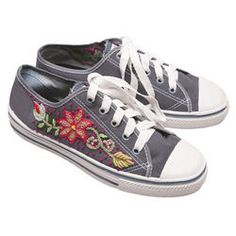 Embroidered Sneakers $79.00