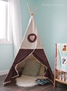 diy teepee play tent