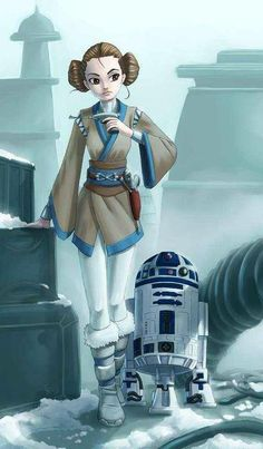 Leia or Padme(I'm not sure which) Star Wars Film, Star Wars Rebels, Star Wars Art, Star Trek, Starwars, Traje Jedi, Science Fiction, Star Wars Personajes, Timberwolf