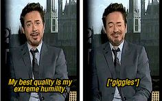 Robert Downey Jr has been entertaing us since ages whether he is playing the role of The Iron Man or The Witty Detective Sherlock Holmes. Here are Tony Stark memes just for you Dc Memes, Marvel Memes, Marvel Dc, Marvel Actors, Iron Man, Robert Downey Jr., Downey Junior, The Villain, Tony Stark