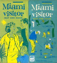 Nog zien _ USA _ Florida _ Miami _ Miami visitor map by wardomatic, via Flickr