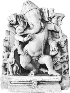 Ganesh statue Farrukhabad U.P India 10th century