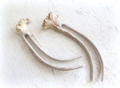 Corne de cerf andouiller cheveux fourchettes bâtons de cheveux Unique épingles mariage Woodland peigne petit